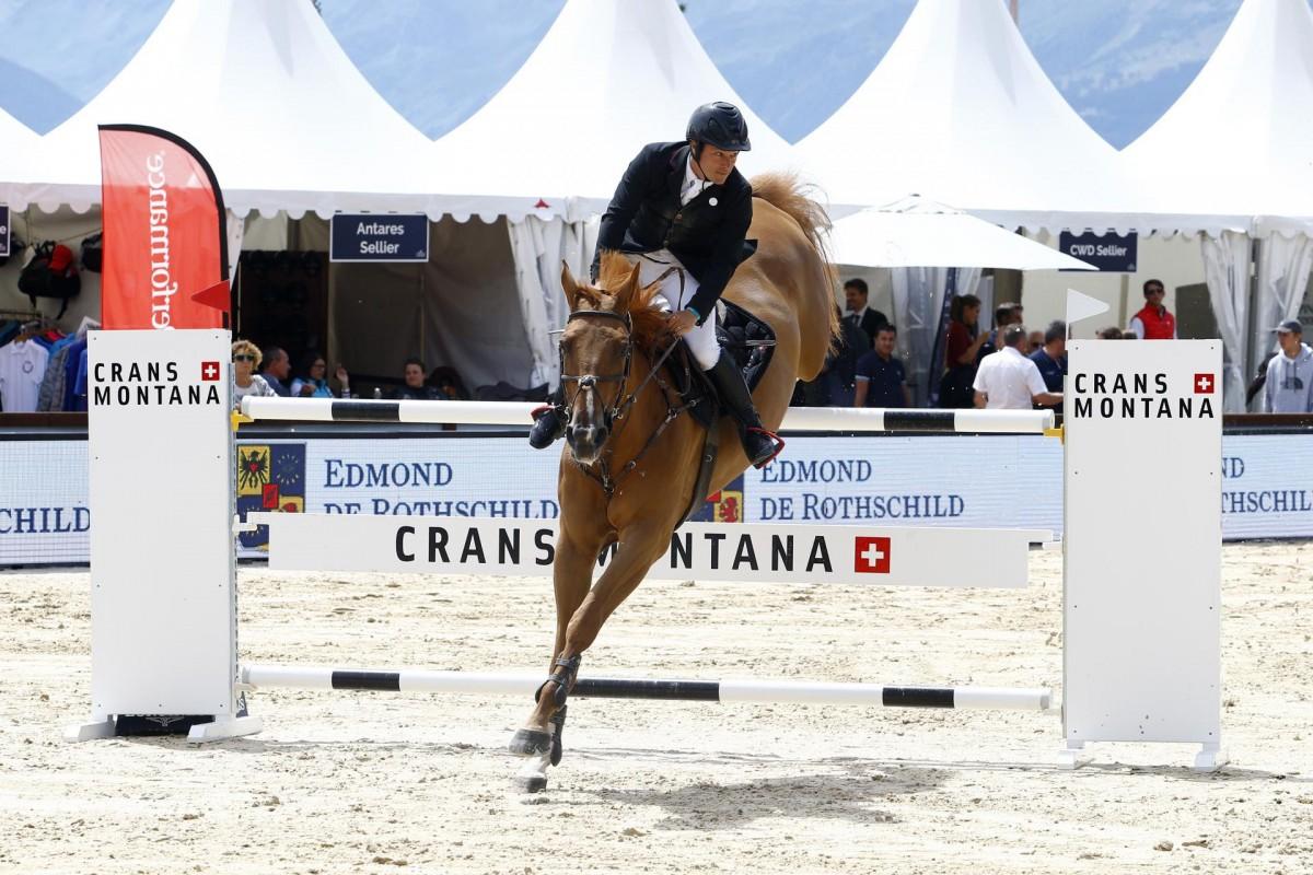 CSI3* victory for Nicolas Deseuzes in Busto Arsizio
