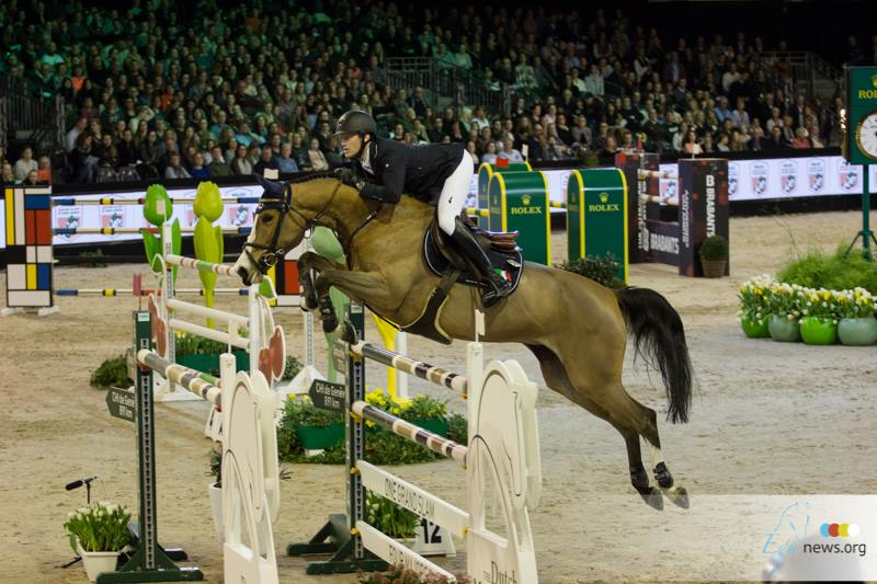 Jorinde Verwimp takes a home win in Grand Prix Freestyle of Mechelen