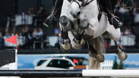 Elizabeth Power wins 1.45m class in Dublin