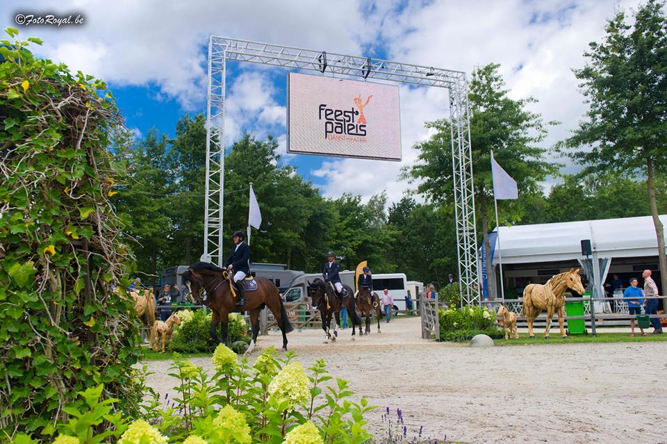 Countdown jusqu'à l'événement du Flanders Horse Event
