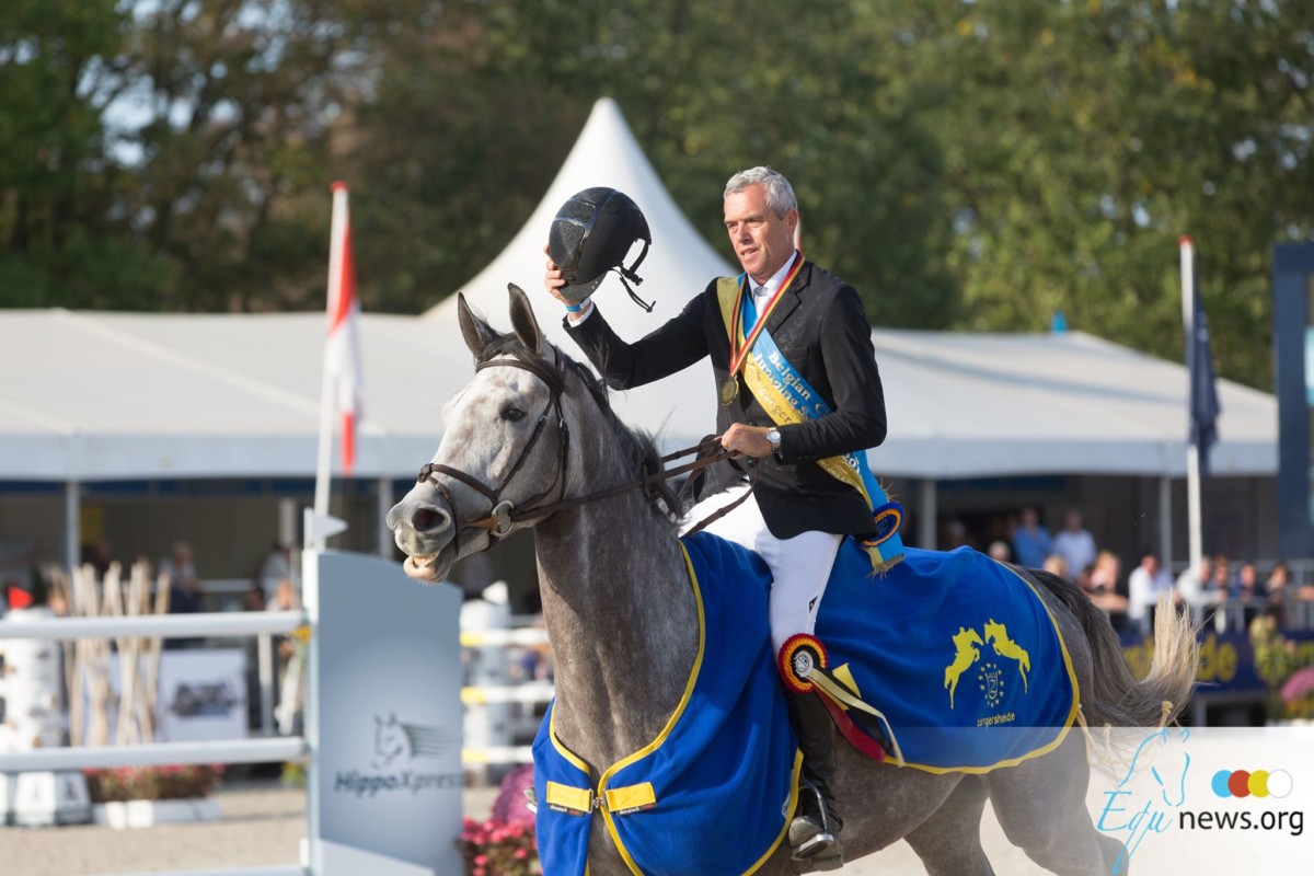 The horses and riders for the FEI World Breeding Jumping Championships for Young Horses