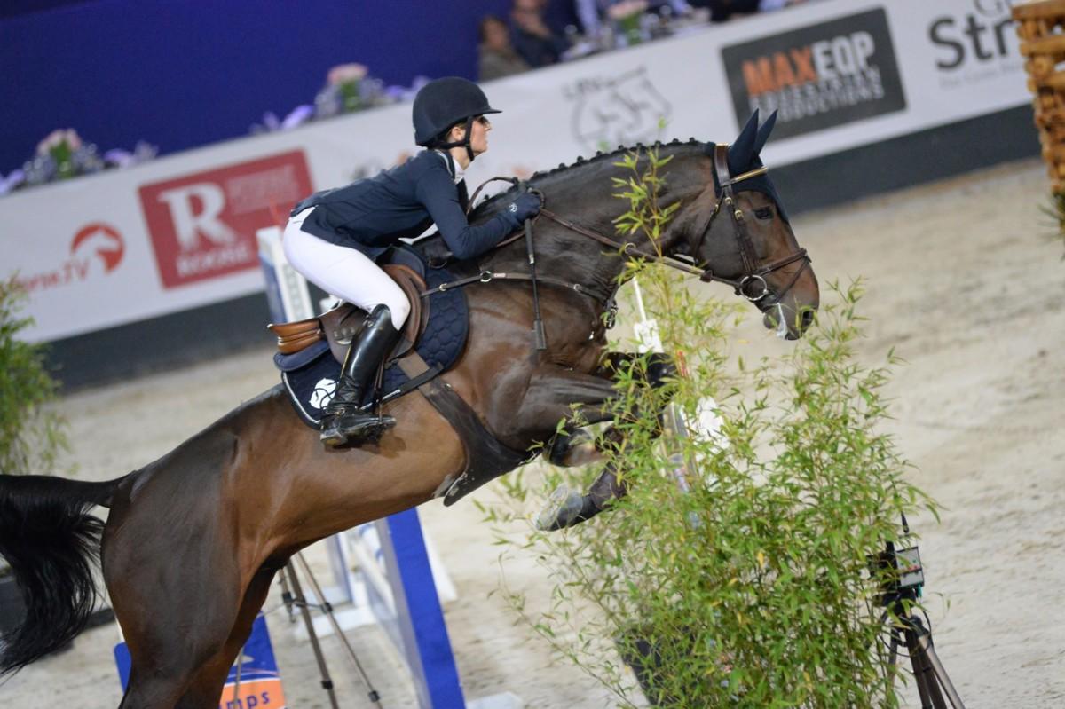 Rachel Steffen deuxième au Flanders Horse Expo à Gand