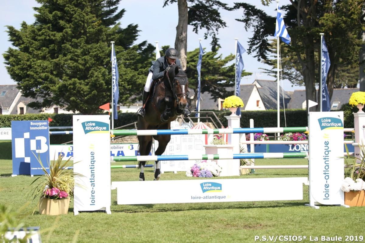 Riders and horses for CSIO La Baule