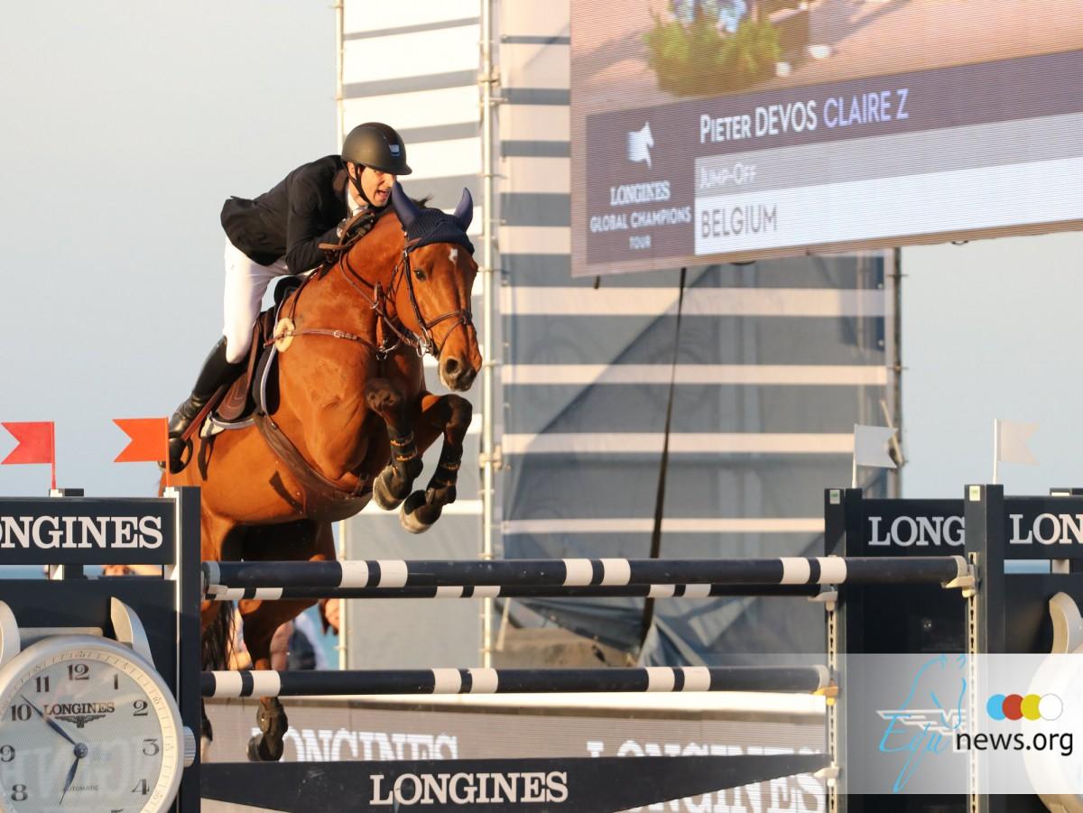 Pieter Devos houdt vast aan leiderspositie in Global Champions Tour rankings