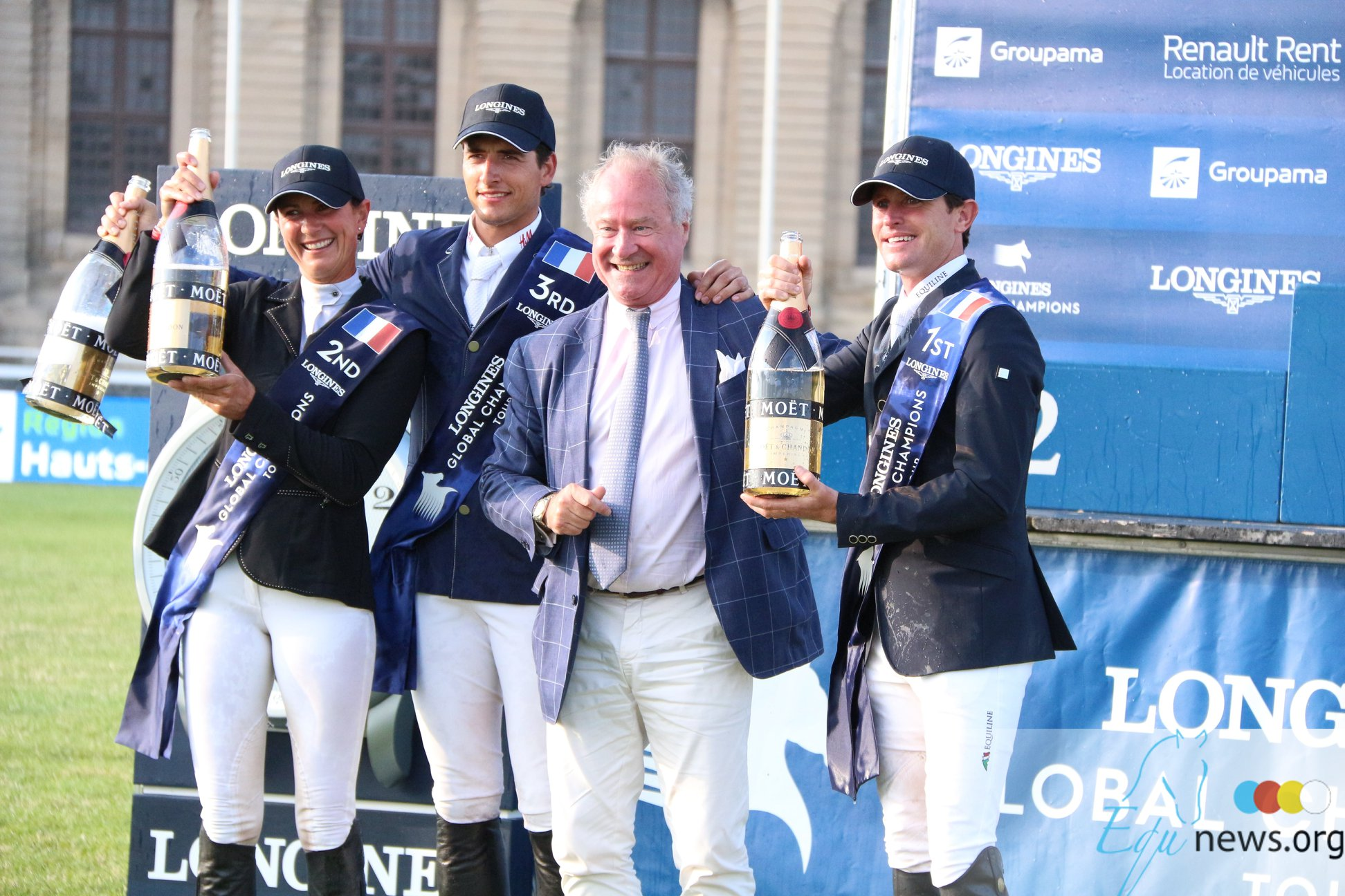 Daring Darragh and Balou Win LGCT Chantilly Showstopper