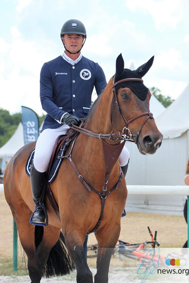 François Mathy Jr remporte la médaille de bronze avec Casanova en 5* LR à Londres.