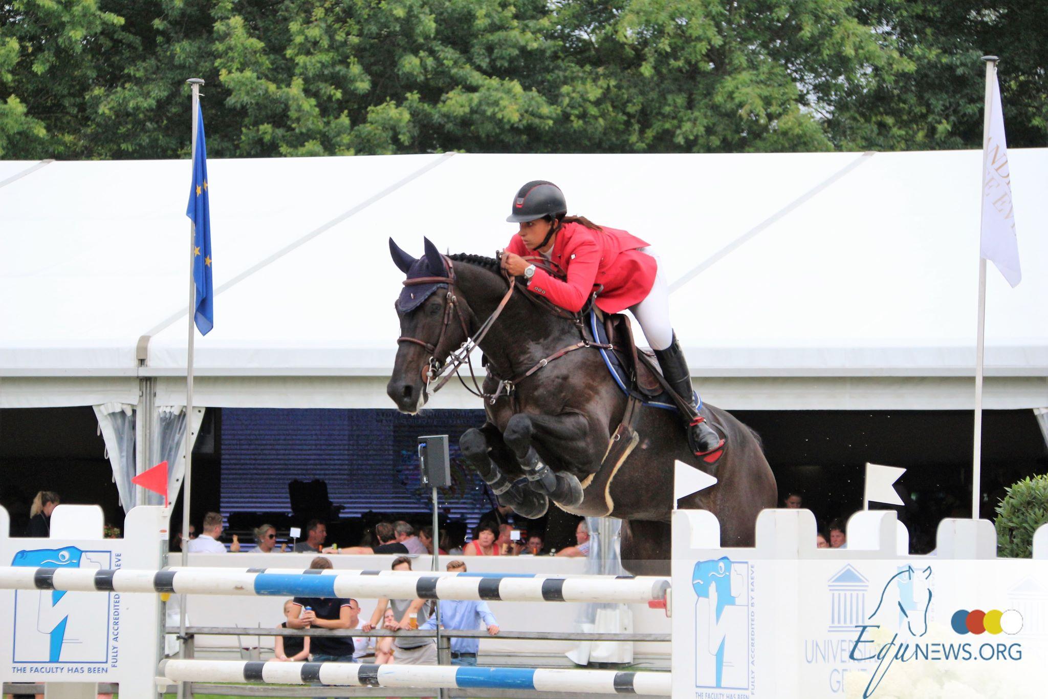Les cavaliers se prépare pour les Championnats de Belgique de Gesves