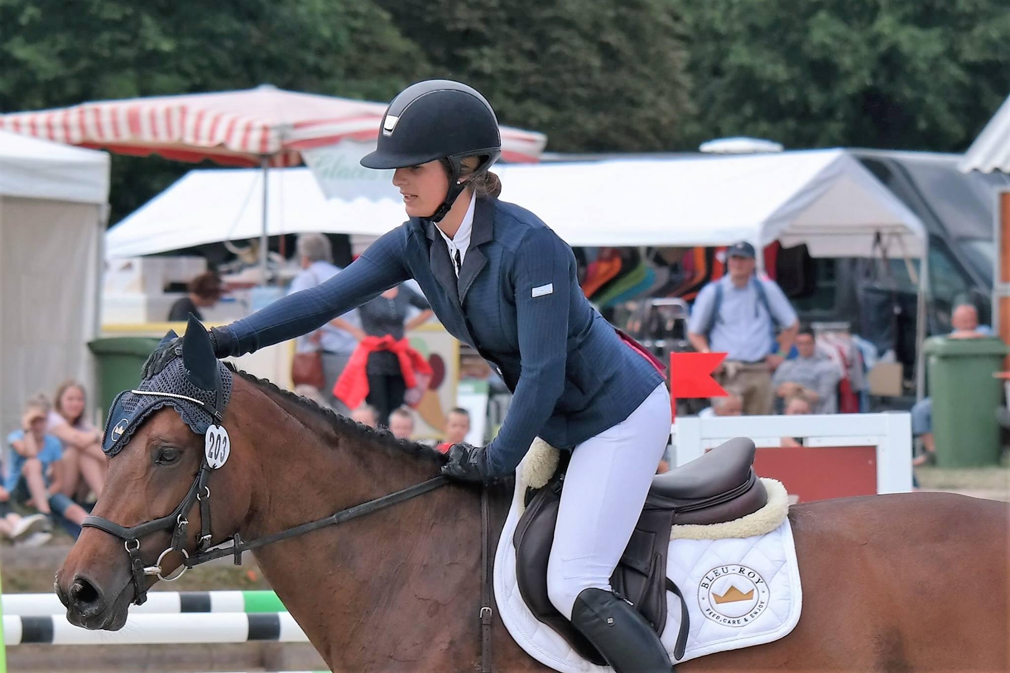 Les cavaliers belges terminent troisièmes lors de la coupe des nations Le Pin Au Haras
