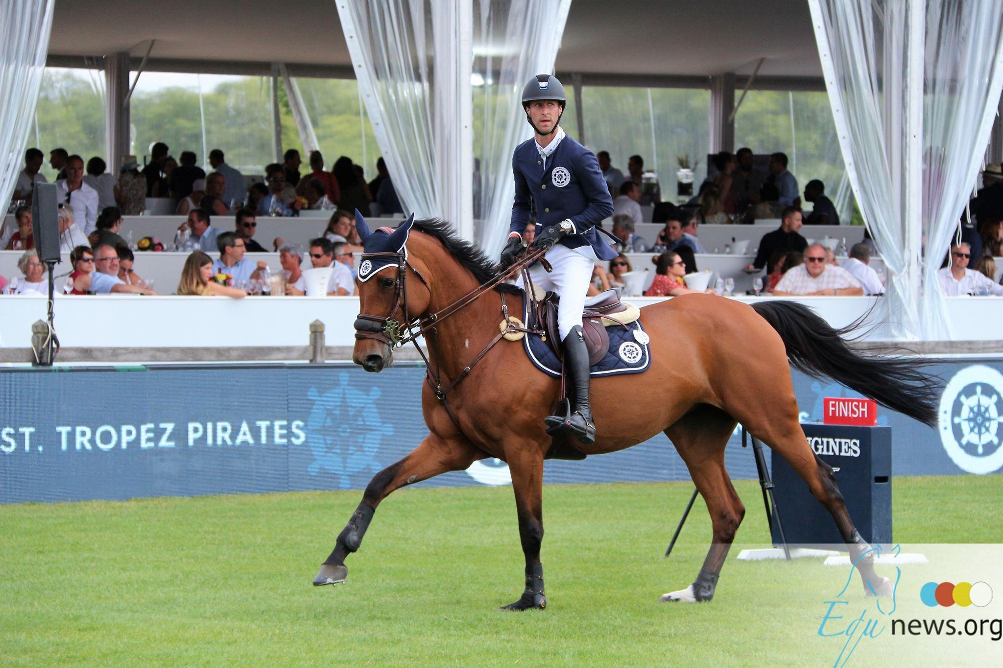 Constant van Paesschen et Pieter Devos prennent la deuxième place de la première épreuve du GCL à Rome Simon Delestre prend première place de l'individuelle