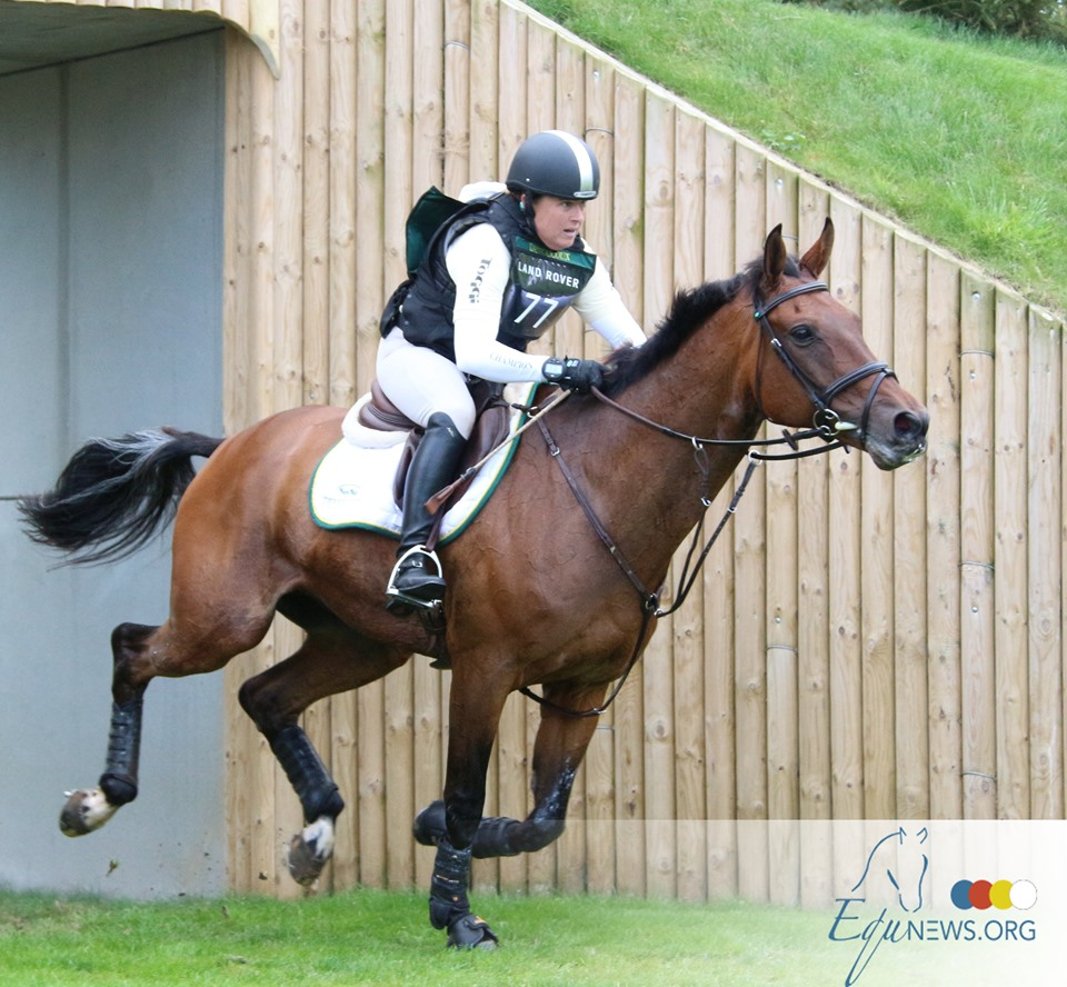 Pippa Funnell triomphe avec MGH Grafton Street lors du Burghley Horse Trials