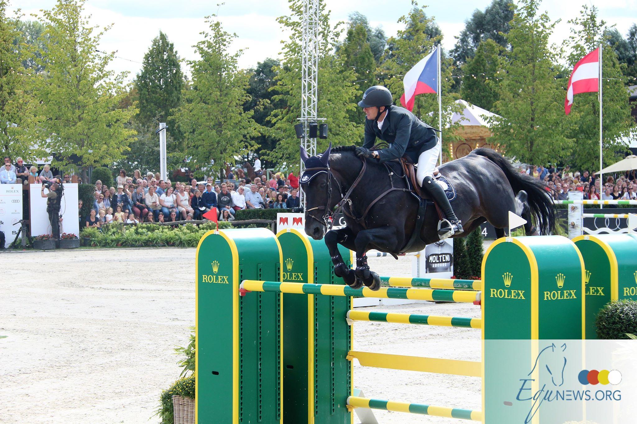 Nouveau cheval de Grand Prix pour Gregory Wathelet