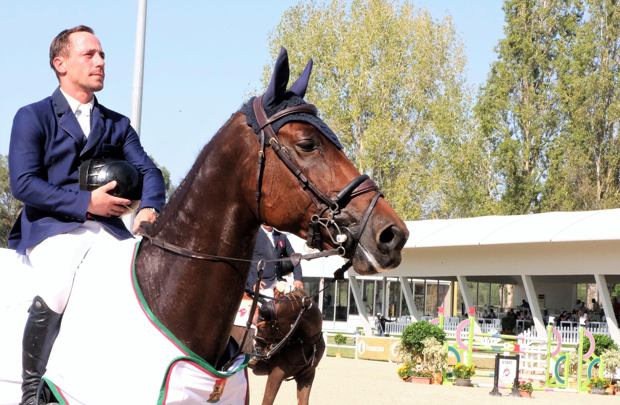 Victoire pour Thierry Goffinet à Rabat