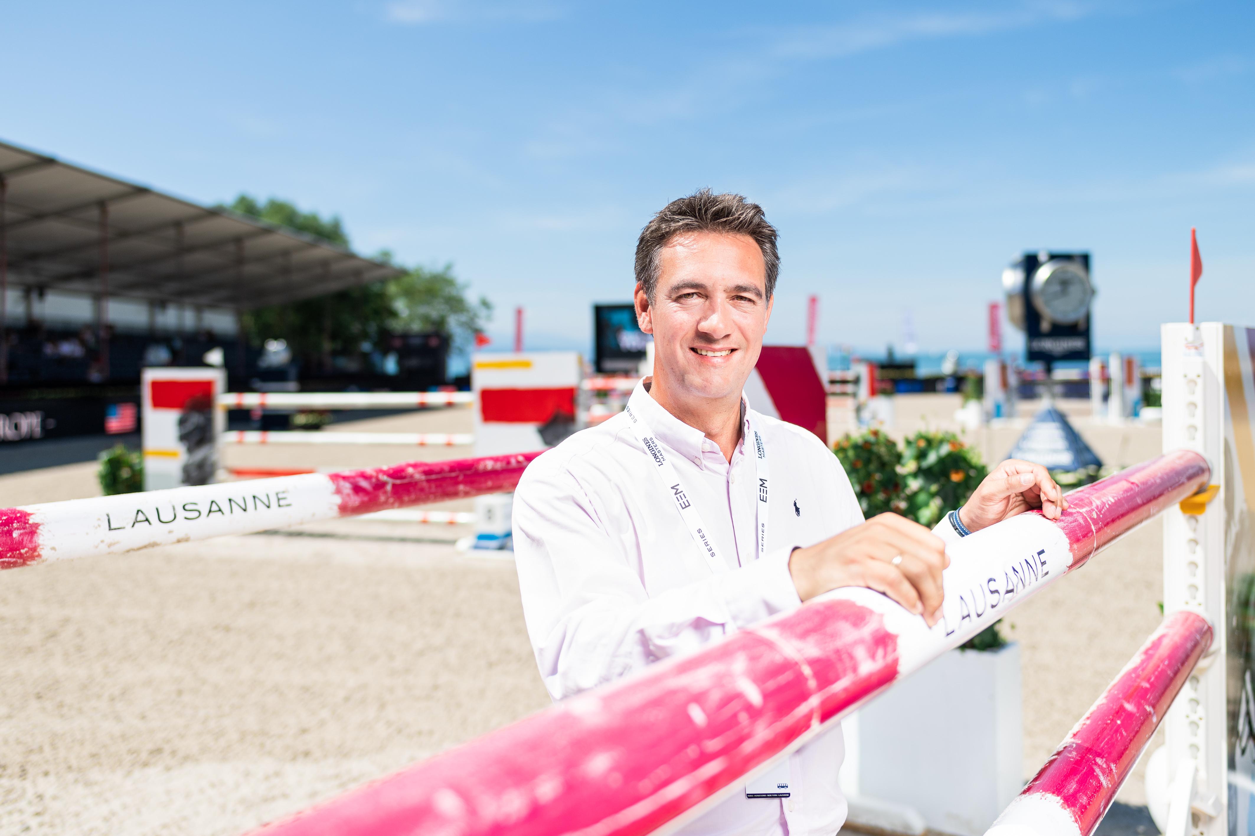 Le Français Grégory Bodo, nouveau chef de piste du Longines Masters de Paris,