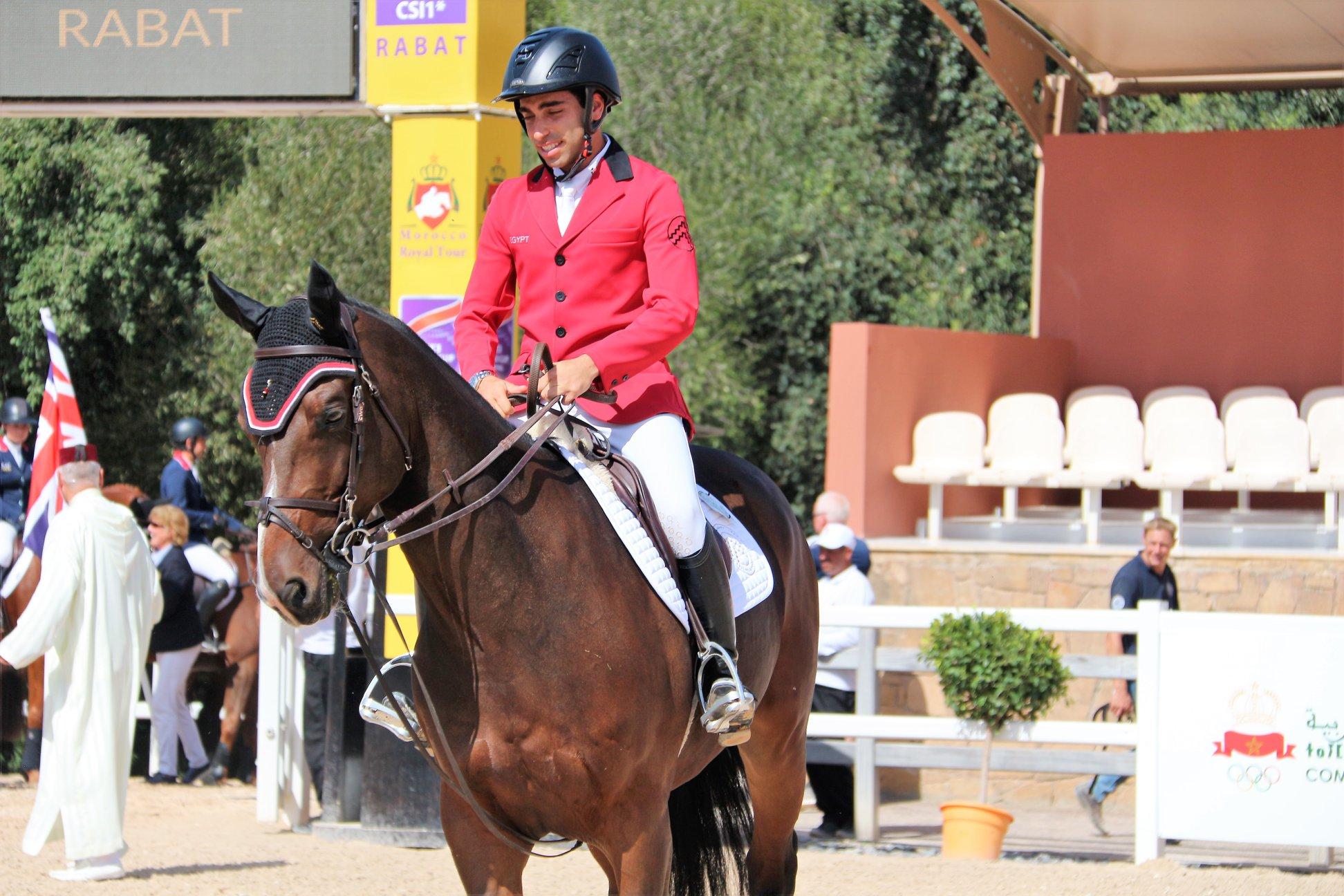 Abdel Said victorieux,Simon Delestre et Jérome Guery suivent.
