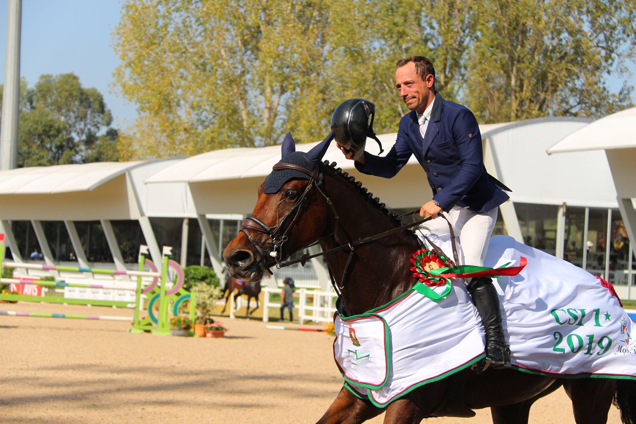 Thierry Goffinet vainqueur au Met avec Hyppocampe DB