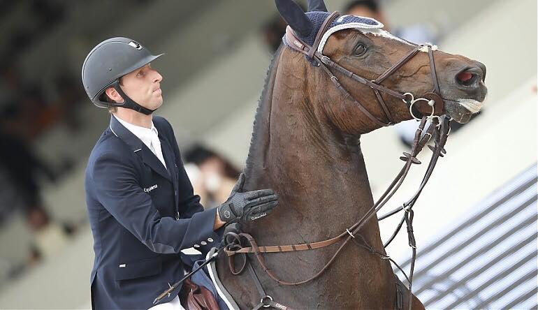 Pieter Devos remet sa carte de visite à Madrid , Marcus Ehning victorieux!