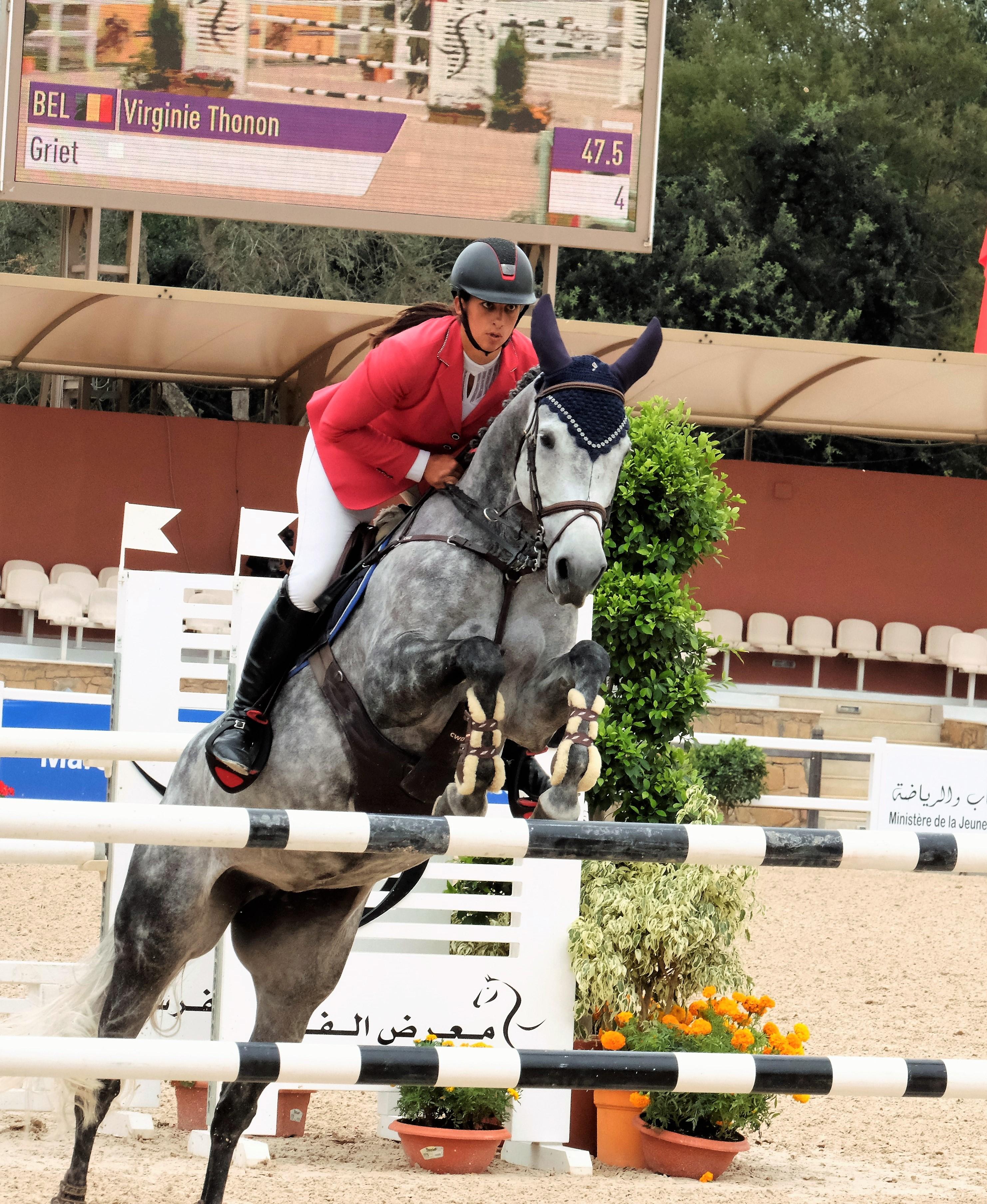 Virginie Thonon et Griet remportent la victoire à Oliva