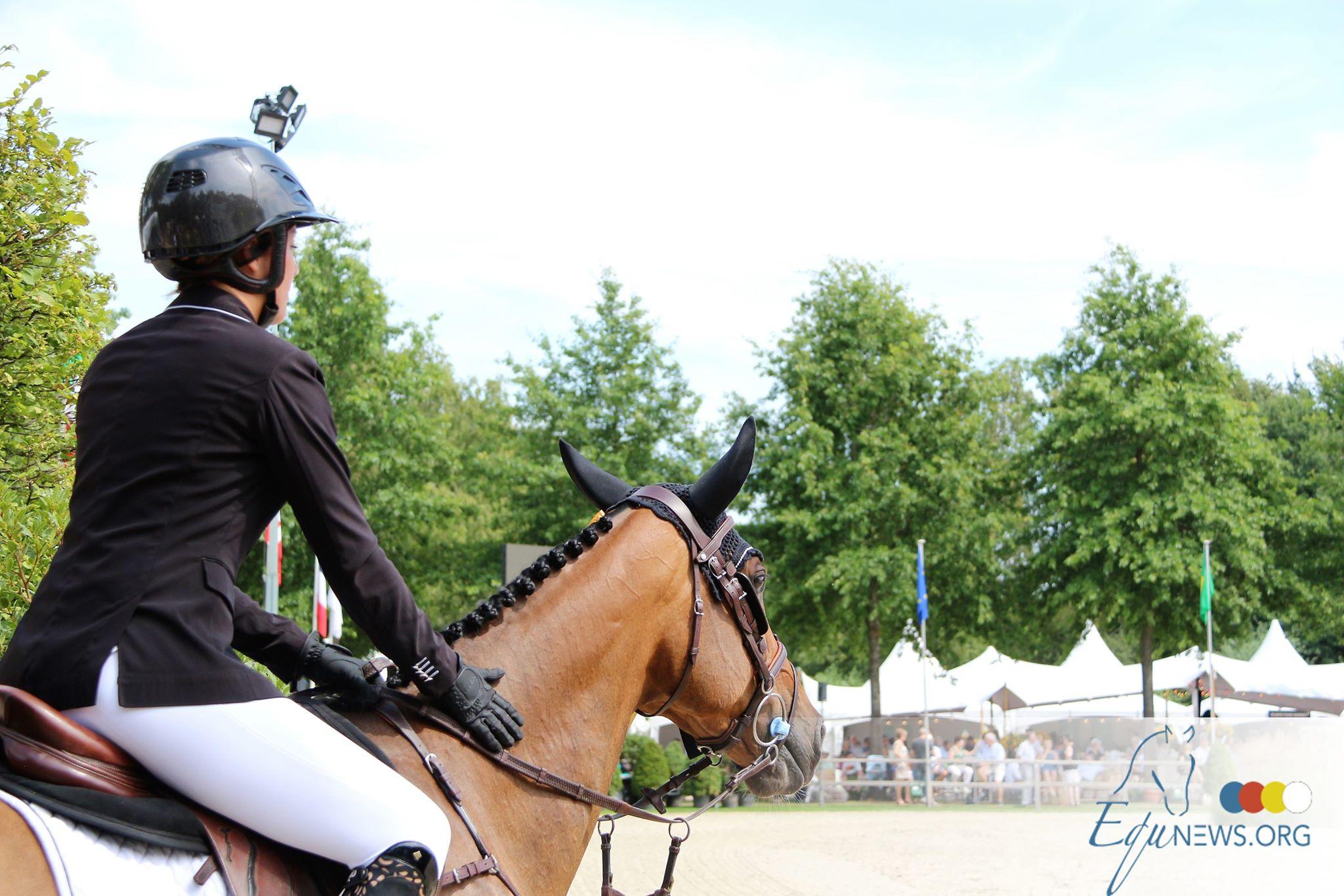 Top cinq pour Pénelope Leprevost ; Gudrun Patteet meilleure belge dans le difficile Grand Prix Oliva.