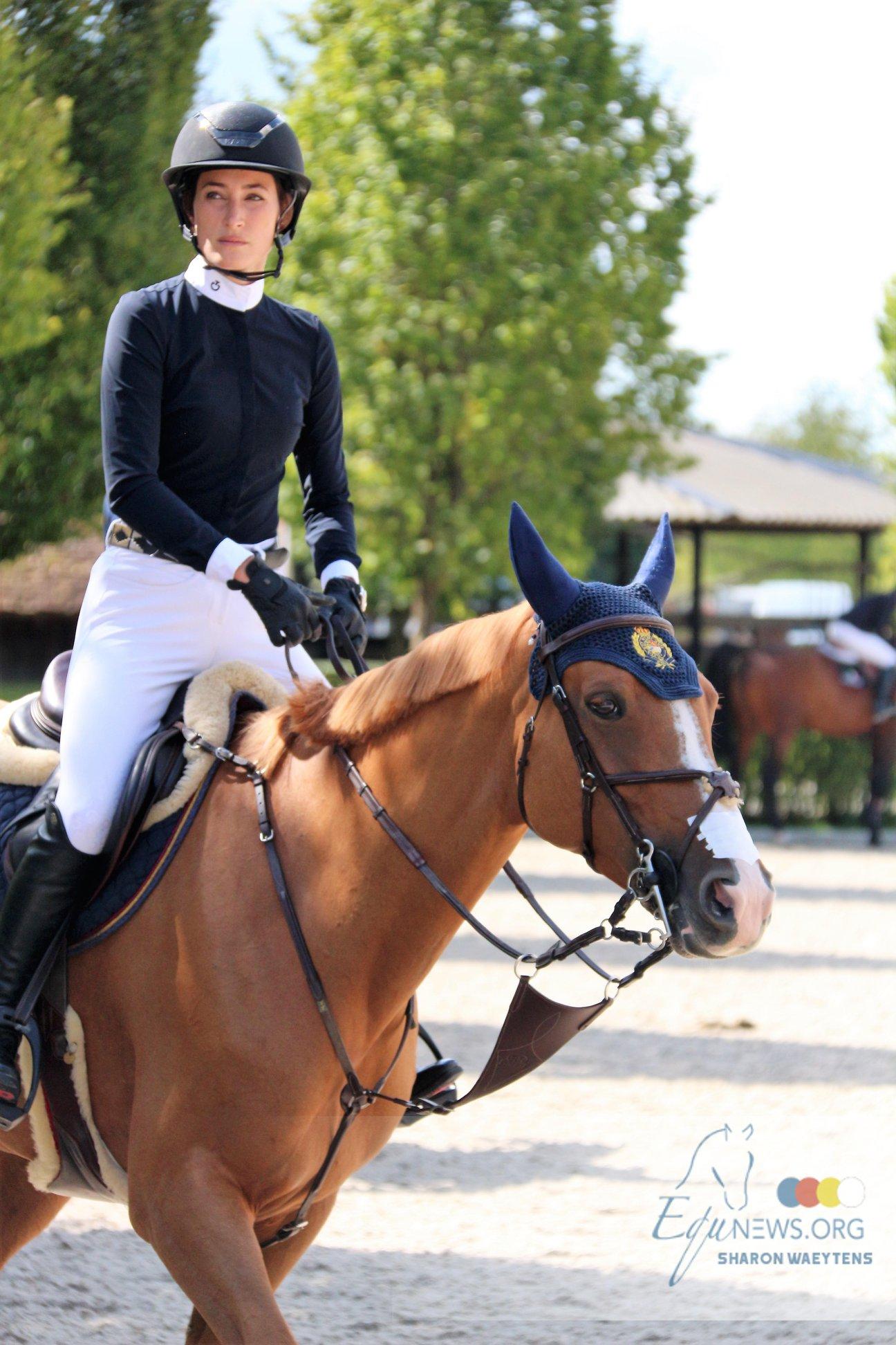 Jessica Springsteen obtient le titre de meilleure cavalière à Wellington
