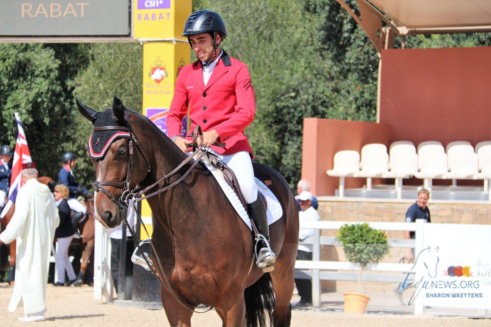 Hubside : Abdel Saïd  à la troisième place du 1.40m, Charles Berthol vainqueur