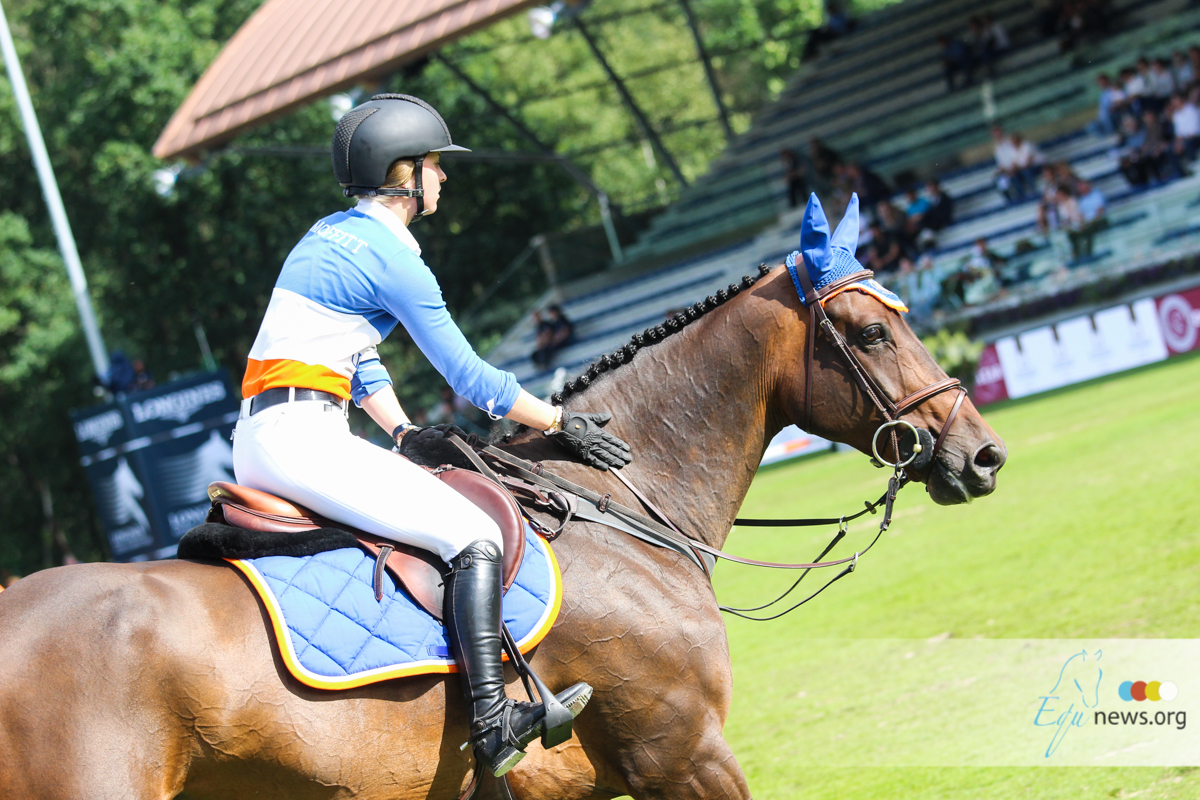 Two Partnerships on Two Coasts: Neil Jones Equestrian Horses Go to Young Riders on the Rise