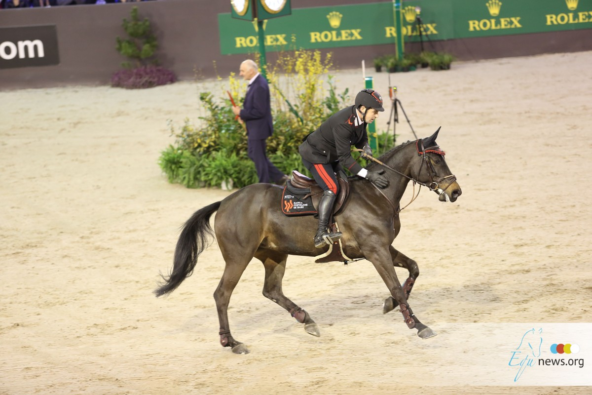 Gaudiano on top in CSI5* speed class Hubside