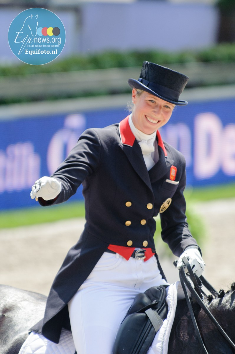 Maternity leave for Grand Prix mare Laura Tomlinson