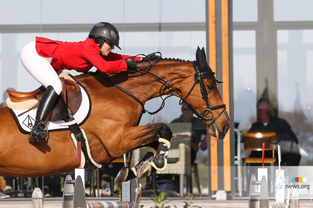 Emma Augier-De Moussac sees suspension cut in half