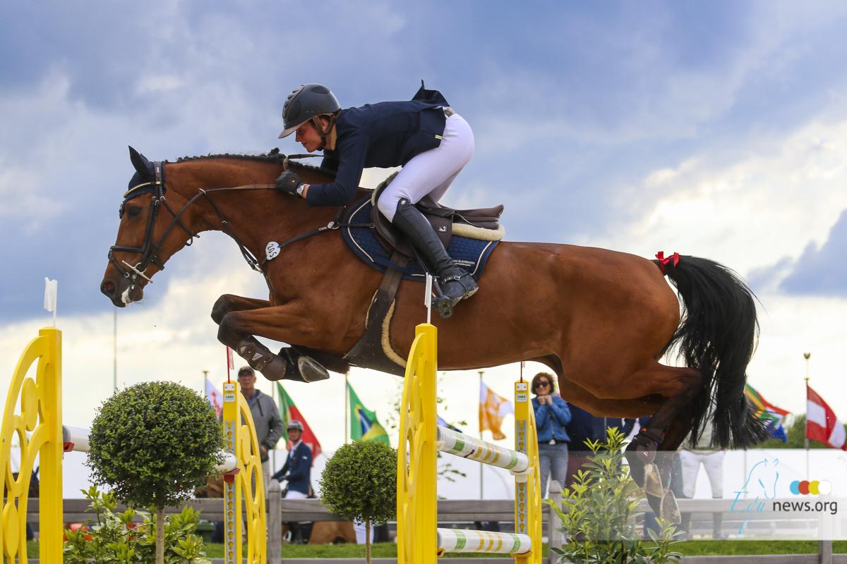 Oliva: Katrin Eckermann wins the Longines Ranking class