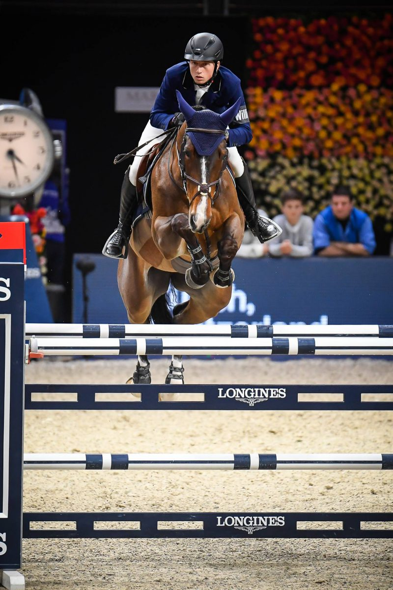 First place for Martin Fuchs and Tam Tam du Valon in main class of CSI5*-W Verona