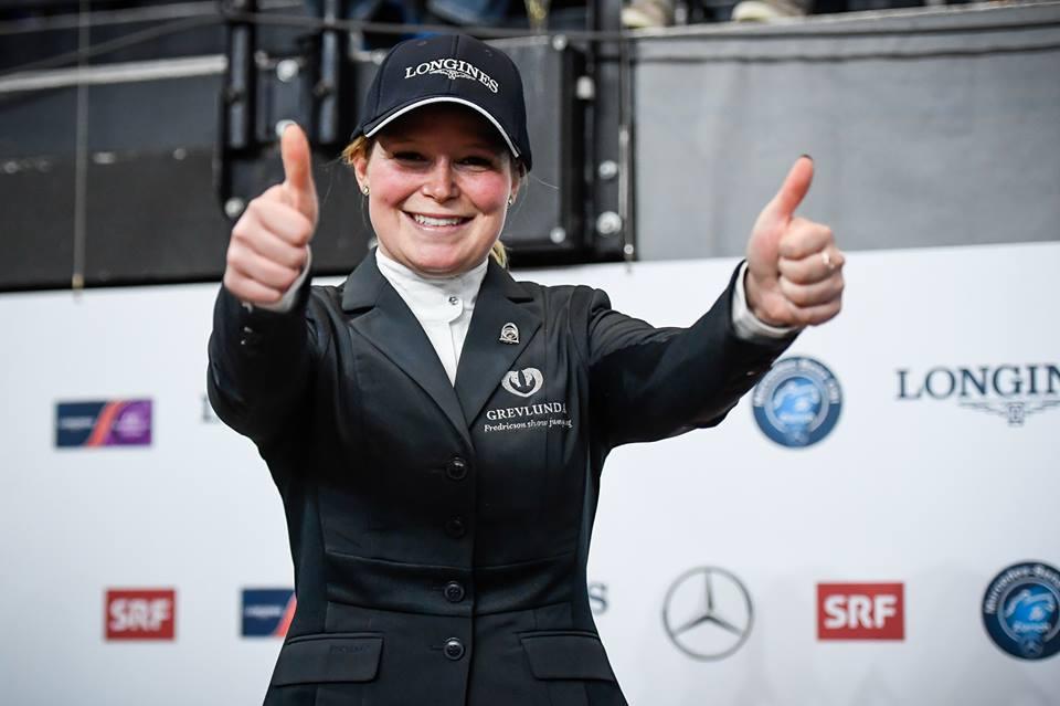 Stephanie Holmen wins CSI3* Grand Prix in Roeser