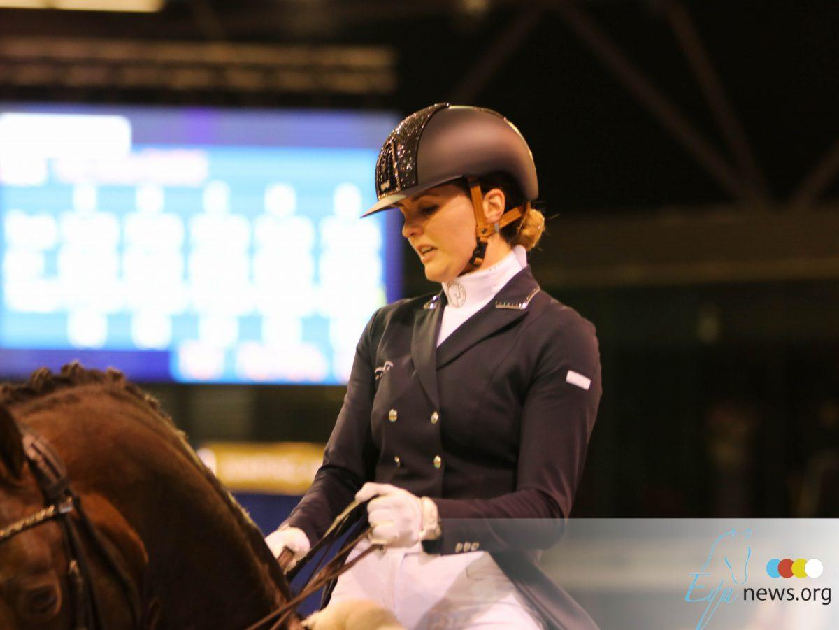 Emmelie Scholtens en Desperado naar Saab Top 10 Dressage