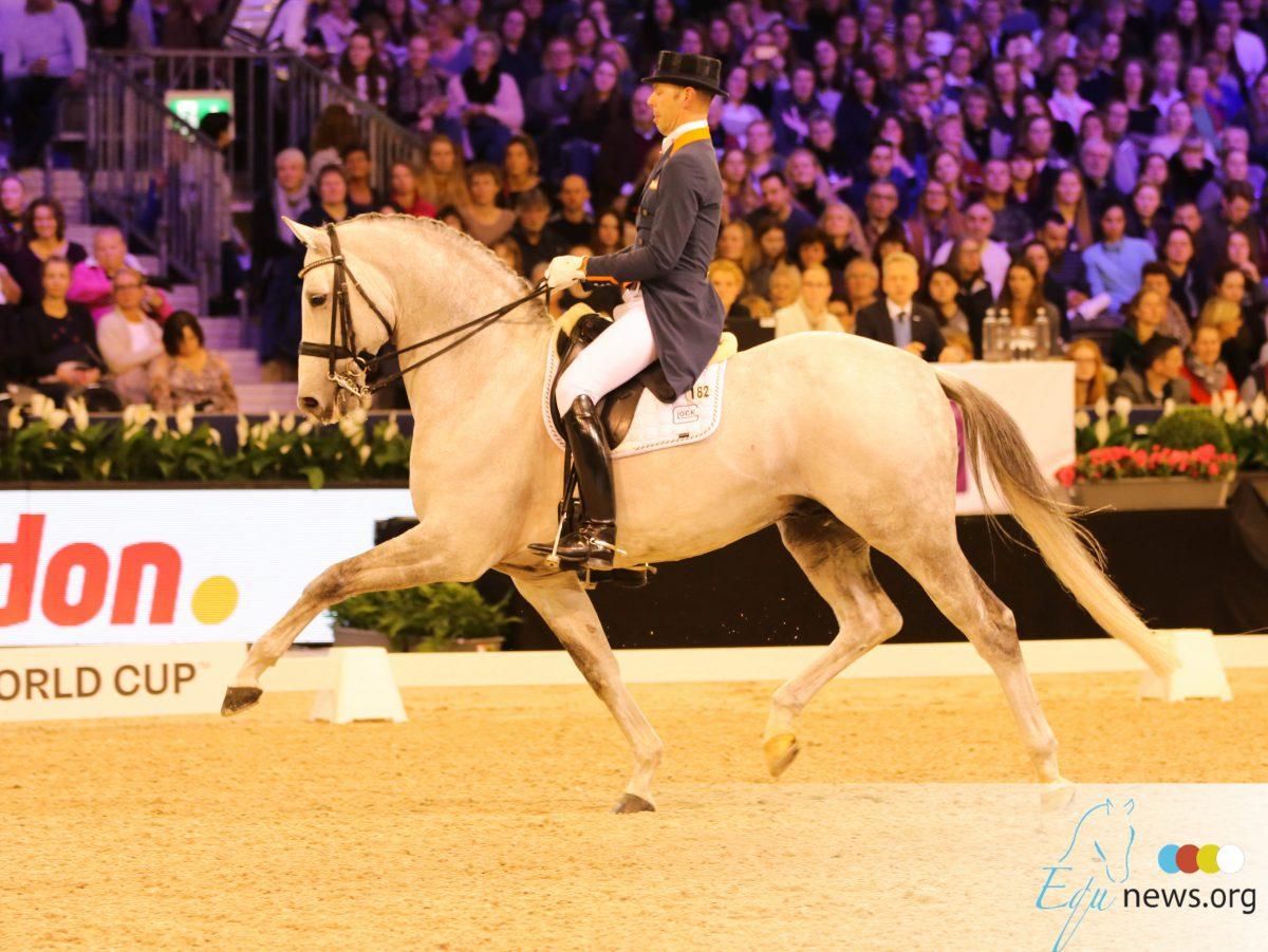 Hans Peter Minderhoud naar brons in Madrid