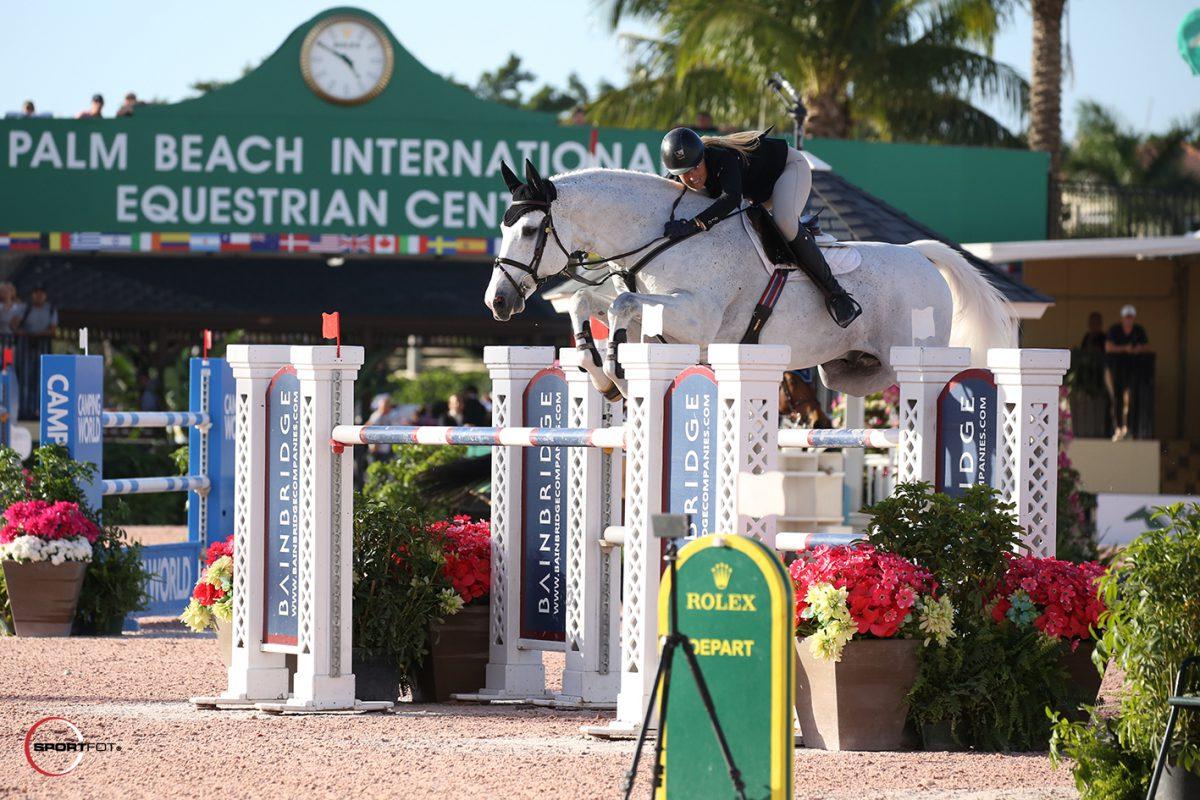 Kristen Vanderveen beats the odds in thrilling jump-off
