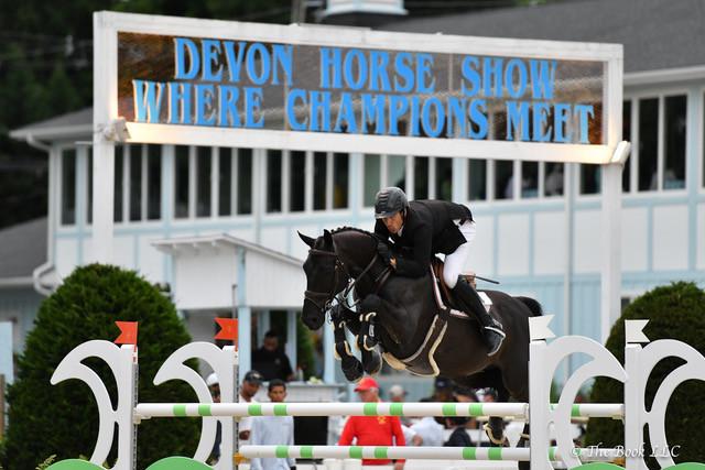 Andrew Kocher zorgt voor Nederlands kantje aan hoofdwinst op Devon Horse Show