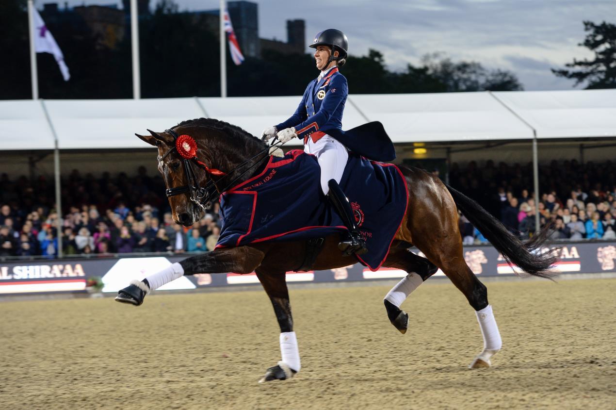 Trainen als een Olympische kampioen: Charlotte Dujardin!