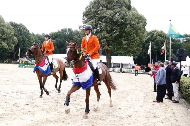 Nederlandse jongeren zijn de basis van de paardensport