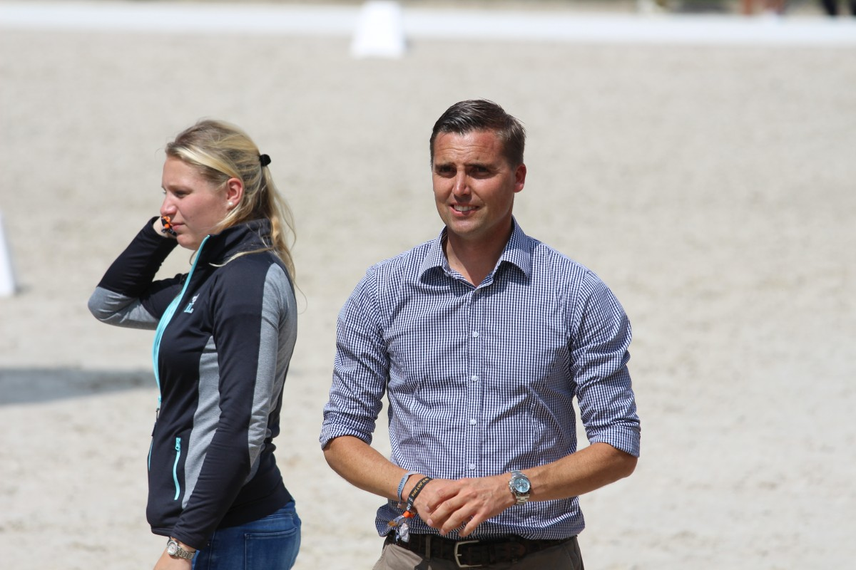 Andreas Helgstrand wants to go to the Olympics