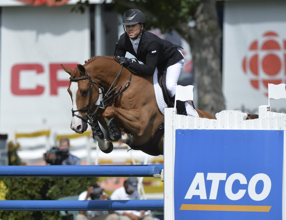 Kent Farrington wins in Spruce Meadows