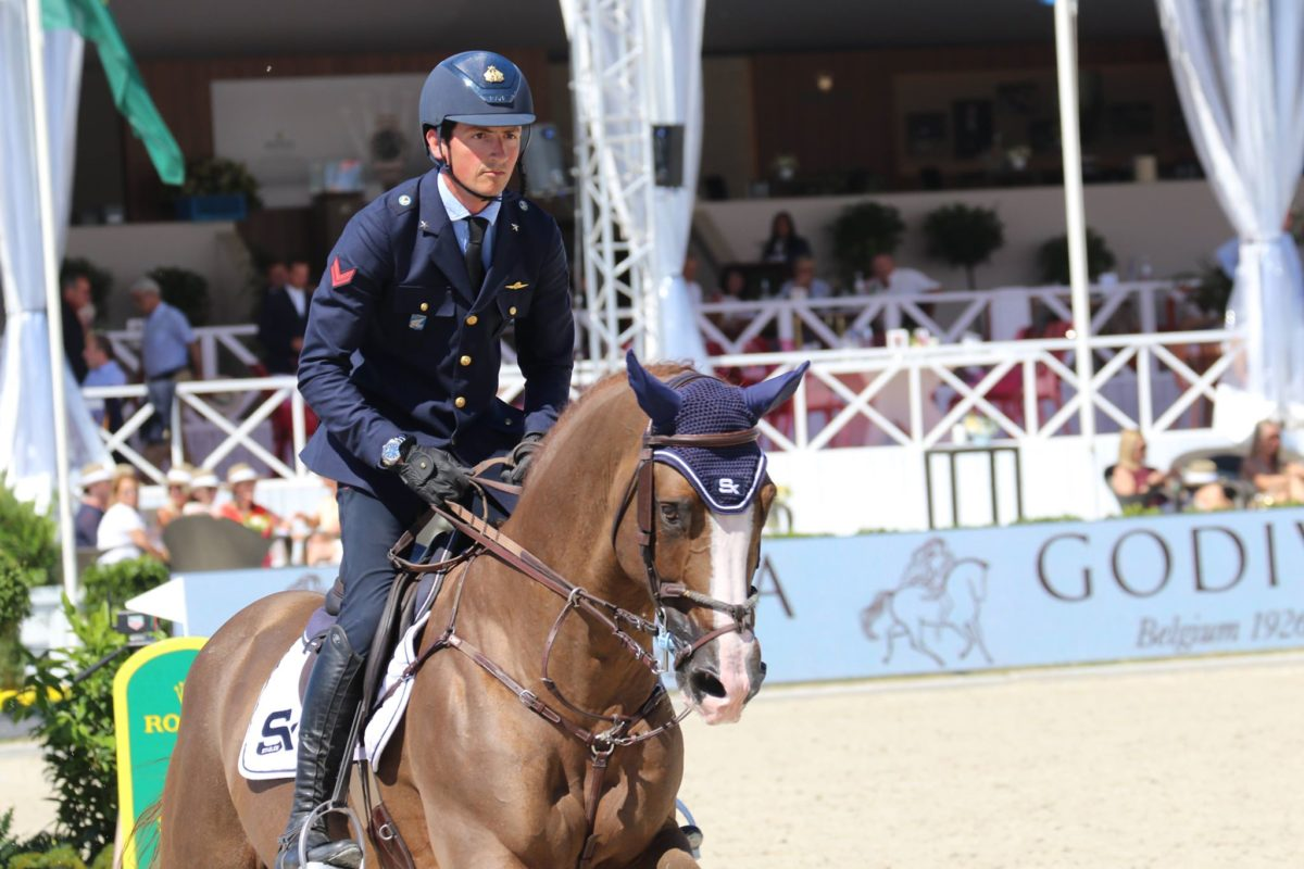 """Lorenzo de Luca: """"Your job as a rider is to give your horse all possible opportunities to jump clear..."""""""