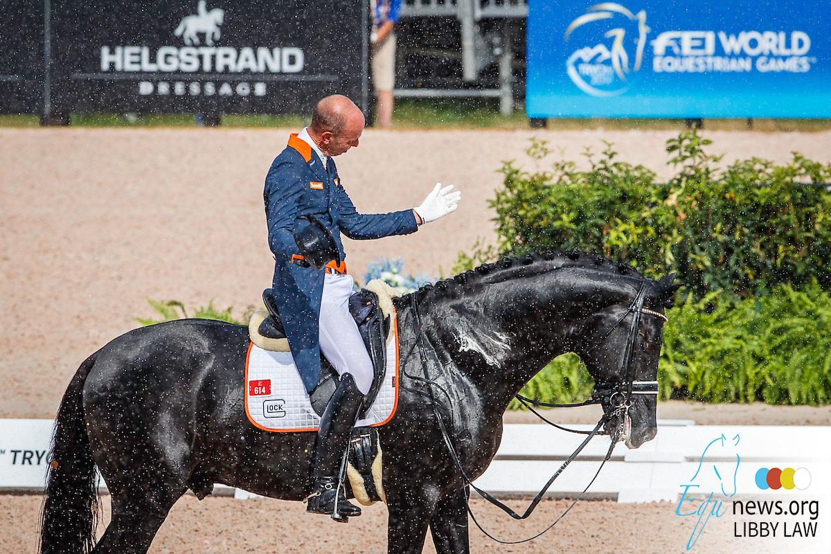 Hans Peter Minderhoud met 76.817% naar derde plek in groep III