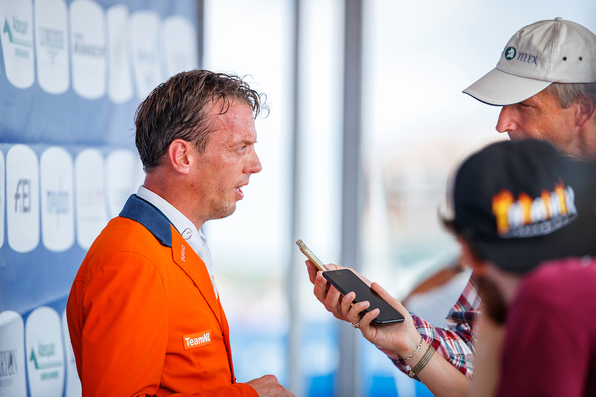 Internationale selecties: Harrie Smolders  en Luuk Mourits enige ruiters in Oranje in Wellington