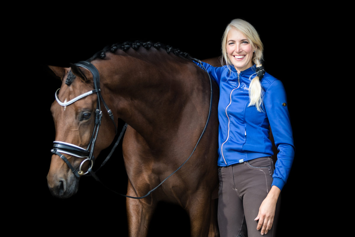 Yvonne Snieder wilde naar Deurne maar kon geen paard aan de teugel rijden