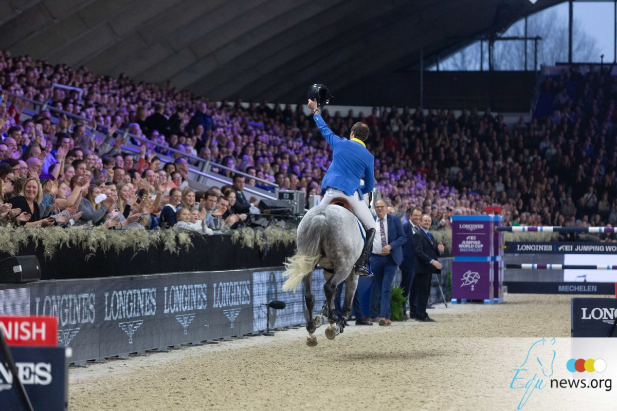 Christian Ahlmann and Mandato van de Neerheide win Youngster Finals in Leipzig