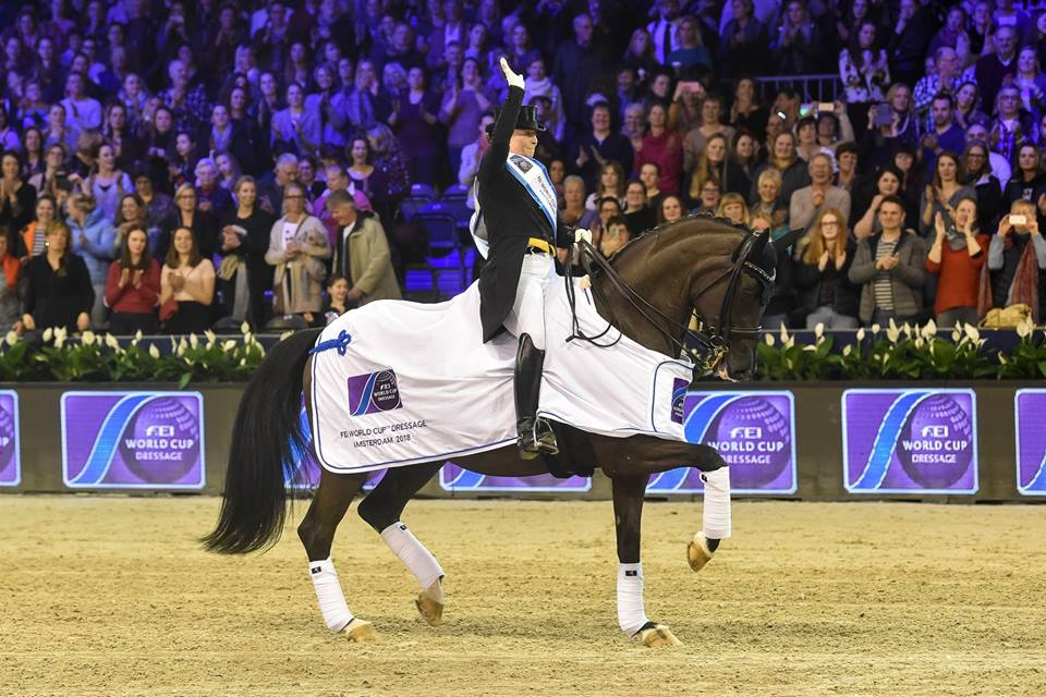 Isabell Werth wins Grand Prix in Stockholm