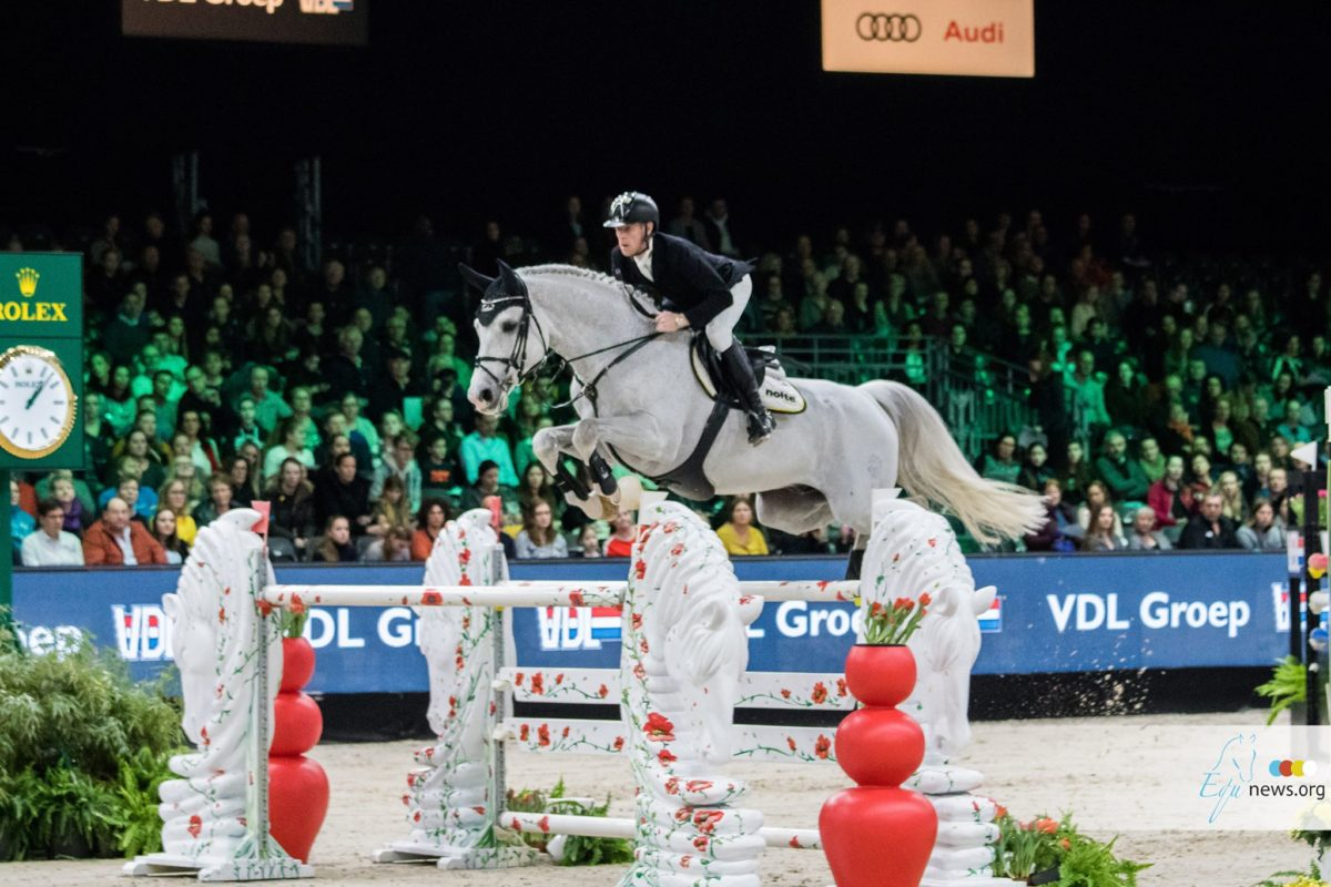 Marcus Ehning retires Cornado NRW