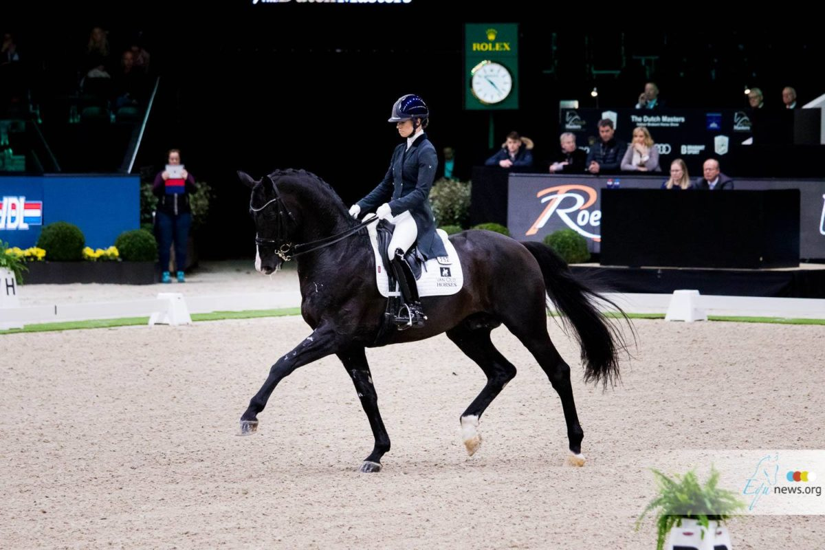 Charlotte Fry wins Grand Prix Special in Exloo