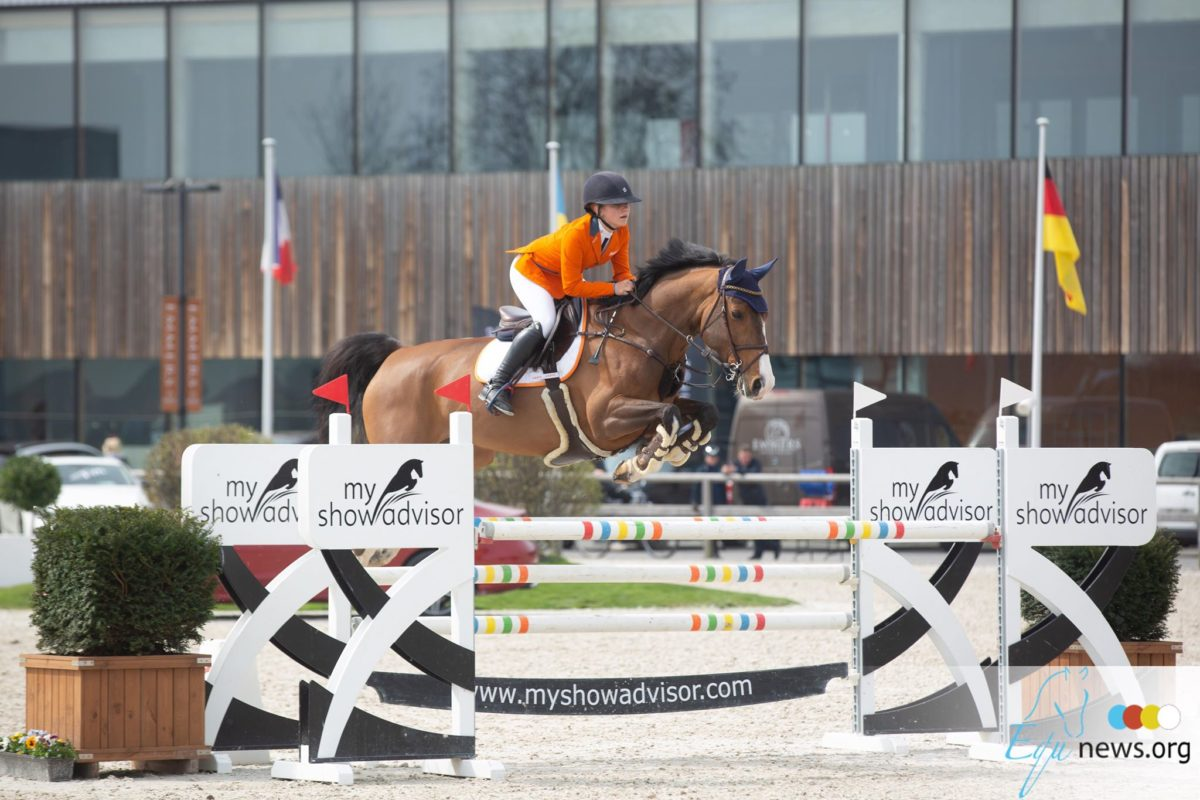 Dutch Children team seize first place in Nations Cup Zuidwolde