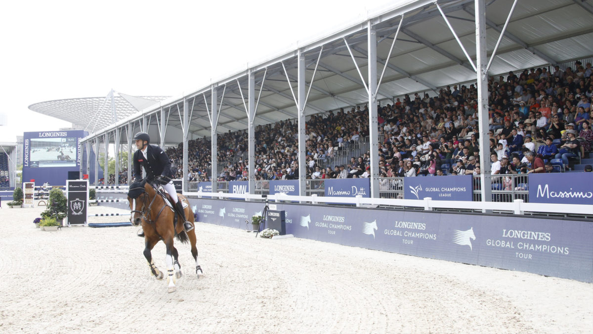 Conflict in new FEI calendar. World Cup and LGCT overlap.