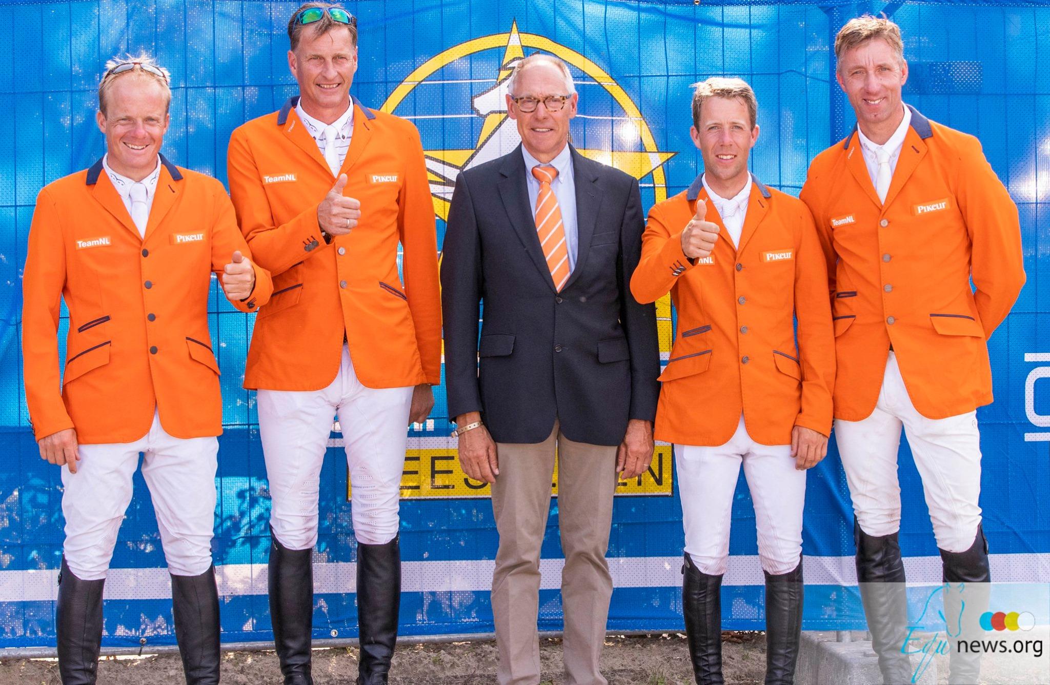 Nederlands team springt naar zilver in Nations Cup Geesteren